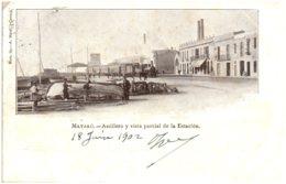 MATARO - Astillero Y Vista Parcial De La Estacion - Sonstige