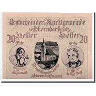Billet, Autriche, Oberndorf Bei Salzburg, 20 Heller, Portrait, SPL, Mehl:690a - Autriche