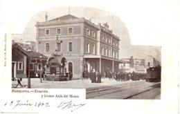 BADALONA - Estacion Y Kiosco Anis Del Mono - Espagne