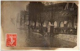 93 ILE SAINT-DENIS - Inondations - Carte-photo - Saint Denis