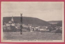58 - MONTREUILLON---Vue Générale Eglise Et Pont - Autres Communes