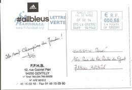 2014 L'Equipe De France Championne  Du Monde De Handball Au :Quatar; - Hand-Ball