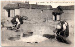 FLORINA - En MACEDOINE - Tamisage Du Maïs - Macédoine