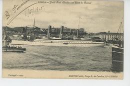 """PORTUGAL - LISBOA - BATEAUX - Yacht Real """"AMELIA """" - Lisboa"""