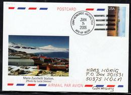 ANTARCTIC,ITALIA, Base Zuchelli, 2 Cachets GANOVEX IX , Look Scans !! 26.3.50 - Stamps
