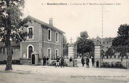 CPA 88 Vosges Rambervillers Place De La Gare - Rambervillers