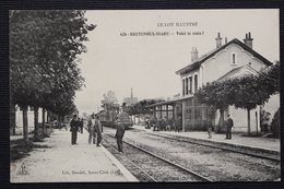 LE LOT ILLUSTRE  626-BRETENOUX-BIARS  -  Voici Le Train ! - Bretenoux