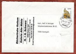 Brief, Alte Oper Frankfurt Sk, Keitum Ueber Westerland Nach Stuttgart 2003 (72592) - BRD