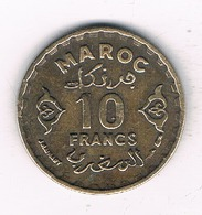 10 FRANCS 1952  MAROKKO /3446/ - Maroc