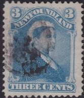 Newfoundland      .   SG  .      47      .      O        .   Cancelled       .   /    .  Gebruikt - 1865-1902