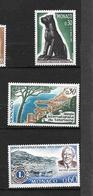 """MONACO  1967  Lot 3  Timbres  N° De 722/23 Et 725 """" Divers """"  NEUFS - Monaco"""