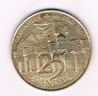 25 GANDAE 1980  GENT   BELGIE /3448/ - Non Classificati
