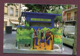 """LYON  : """" VESPASIENNE : Place Tabareau """"  PETANQUE - LYONNAISE - JEU DE LONGUE - Lyon"""