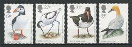 Gde BRETAGNE 1989 N° 1363/1366 ** Neufs MNH  Superbes C 7,50 € Faune Oiseaux Birds Fauna Animaux Sté Royale - 1952-.... (Elisabetta II)