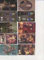 #08 - BRAZIL-03 - SET OF 10 CARDS - PAINTING - Brasile