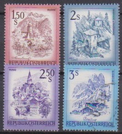Österreich 1974 Nr.1439 - 1442  ** Postfr. Schönes Österreich ( 9132 ) Günstige Versandkosten - 1945-.... 2a Repubblica