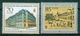 DDR 1989 / MiNr.    3235 - 3236   ** / MNH   (r1690) - [6] Repubblica Democratica