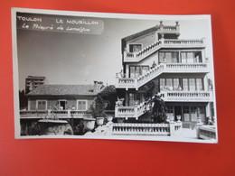 Cpa Photo TOULON - Le Mourillon - Le Prieuré De Lamalgue - Belle Perspective De La Façade - Avec Animation - Toulon