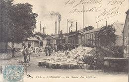 58  Guérigny : Sortie Des Ateliers     ///  REF   AVRIL. 19 - Guerigny