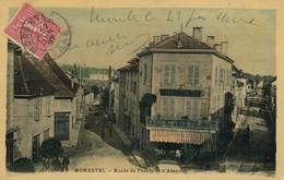 I106 - 38 - MORESTEL - Isère - Route De Passin Et D'Arandon - Morestel