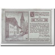 Billet, Autriche, Oftering, 50 Heller, Château, 1920, 1920-04-18, SPL - Autriche