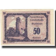 Billet, Autriche, 50 Heller, 1921, 1921-05-01, NEUF - Autriche