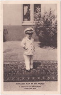 Capitaine Werner RITTER. Le Plus Petit Homme Du Monde - Célébrités