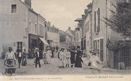 58  Neuvy Sur Loire : Grande Rue      ///  REF   AVRIL. 19 - Autres Communes