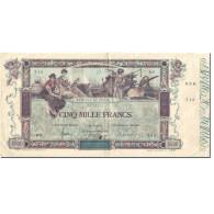 France, 5000 Francs, Flameng, 1918, 1918-01-02, TTB, Fayette:43.1, KM:76 - 1871-1952 Antichi Franchi Circolanti Nel XX Secolo