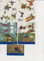 #08 - BRAZIL-07 - SET OF 9 CARDS - BIRD - Brésil