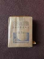 Paquet Beige Entier De 20 Cigarettes ELEGANTES Caporal Ordinaire A2 1(0)6  Régie Française Des Tabacs SEITA - Autres