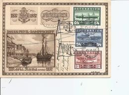 Autriche - Maritime - Bateaux ( Carte Commémorative De 1937 à Voir) - 1918-1945 1ère République