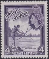 British Guinea    .   SG  .    334ab    .    *    .    Mint-hinged     .   /    .   Ongebruikt - Brits-Guiana (...-1966)
