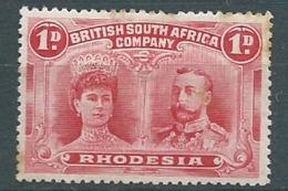 Rhodésie  - Compagnie Britannique  - Yvert N°  22 *- - Bce 17636 - Other