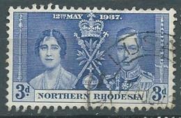 Rhodésie  Du Nord  -- Yvert N°  24 Oblitéré - - Bce 17637 - Northern Rhodesia (...-1963)