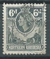 Rhodésie  Du Nord    -- Yvert N°  66 Oblitéré - - Bce 17644 - Northern Rhodesia (...-1963)