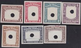 North Borneo   .   SG  .    7 Stamps  Essais   .    **      .    MNH      .   /    .   Postfris - Bornéo Du Nord (...-1963)