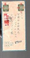 18.7.33 = 18.7.58 Money Remittance Cover Incl The Two Seals Sent To Tokyo (108) - Postwaardestukken