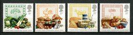 Gde BRETAGNE 1989 N° 1372/1375 ** Neufs MNH  Superbes C 6,50 € Légumes Fruits Oiseau Coq Oeuf Poissons Nourriture - 1952-.... (Elizabeth II)