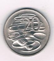 20 CENTS 1980 AUSTRALIE /3458/ - 20 Cents