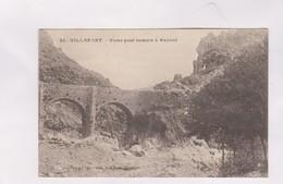 CPA DPT 48 VILLEFORT, VIEUX PONT ROMAIN A BAYARD En 1917! - Villefort