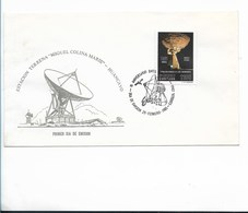 PERU 1985 ENTEL ANNIVERSARY COMMUNICATION COMPANY STATION MIGUEL COLINA MARIE HUANCAYO FIRST DAY COVER FDC - Perù