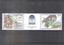 FDC Saint Pierre Et Miquelon - Yv.619A Triptyque - Missions Géologiques - XX/MNH (à Voir) - St.Pierre Et Miquelon