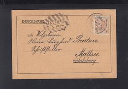 KuK PK Dt.-Österr. Alpenverein Salzburg 1902 An Burghard Breitner Son Von Anton Scheffelbund - Storia Postale