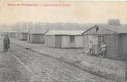 Philippeville NA11: Camp De Philippeville. Logement De La Troupe 1919 - Philippeville