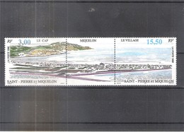FDC Saint Pierre Et Miquelon - Yv.640A Triptyque - Vue Générale - XX/MNH (à Voir) - St.Pierre Et Miquelon