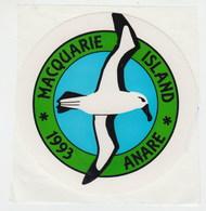 "ANTARCTIC,AAT, Great Vignette ""Macquarie Island"" ANARE 1993 ,look Scan, RARE !! 26.2-16 - Autres"