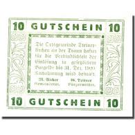 Billet, Autriche, Steinerkirchen An Der Traun, 10 Heller 1920  SPL Mehl:FS 1029I - Autriche
