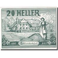 Billet, Autriche, Goldwörth, 20 Heller, Ferme, SPL, Mehl:FS 248b - Autriche