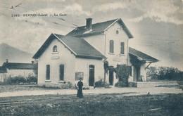 I107 - 38 - BERNIN - Isère - La Gare - Andere Gemeenten